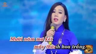 Karaoke - Sương Lạnh Chiều Đông - Lưu Ánh Loan - Tone Nam
