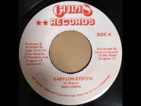 MAD COBRA / BABYLON SYSTEM - Reggae 7inch vinyl record