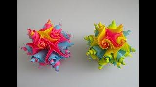 DIY: to make a ball/ eine Kugel machen. Easy/einfach