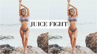 fighting over a juice & homegoods w pOLI | DailyPolina