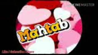 Mahtab Name Whatsapp Status