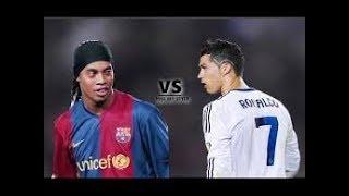 Ronaldinho VS Cristiano Ronaldo ● Crazy Skills  Football