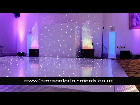 North East Discos and dance floor - James Entertainments