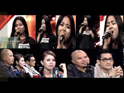 Best Audition X Factor Ajeng Astiani