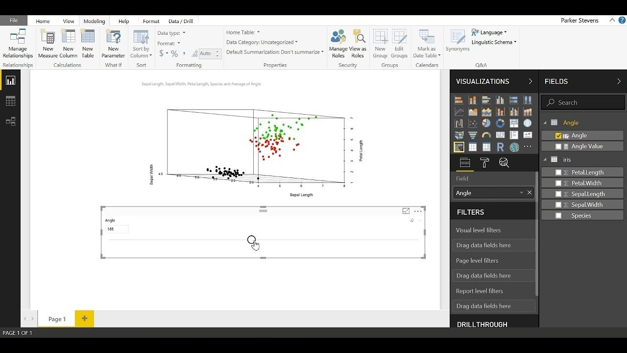 R Visuals in Power BI - 3D Scatter Plot
