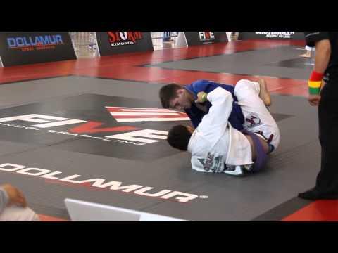 Dante Leon (Ribeiro Jiu-Jitsu Detroit) vs David Garmo - Five Grappling