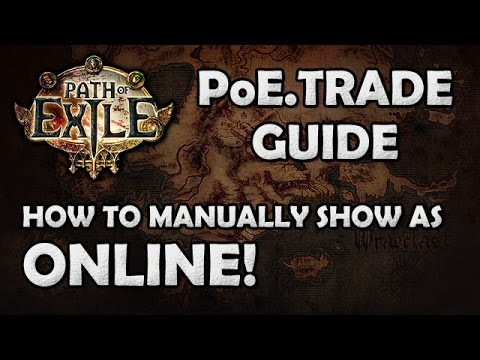 poe.trade online status