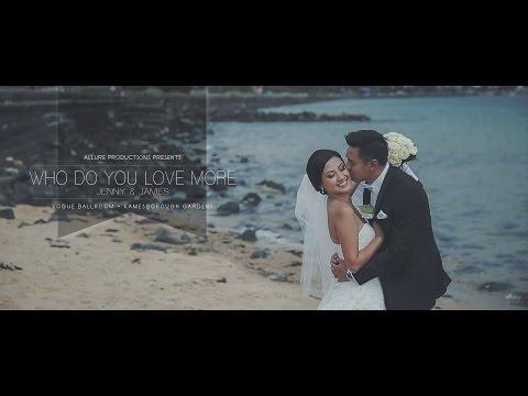 Jenny & James - Allure Productions - Wedding Video Melbourne - Ballara Receptions