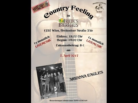 """COUNTRY FEELING"" mit der Band ARIZONA EAGLES"