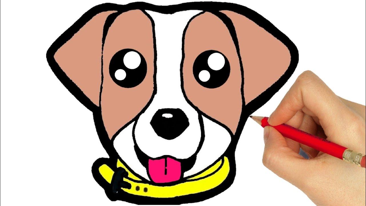How To Draw A Dog Como Desenhar Um Cachorro Dibujar Un Perro