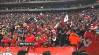 El Color en Tijuana vs America, J02, C14, Estadio Caliente, 10Enero2014, TvAzteca