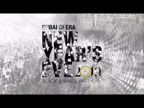 New Year's Eve Black and White Party at Dubai Opera