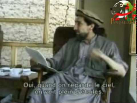 Ahmad Shah Massoud Reciting A Poem