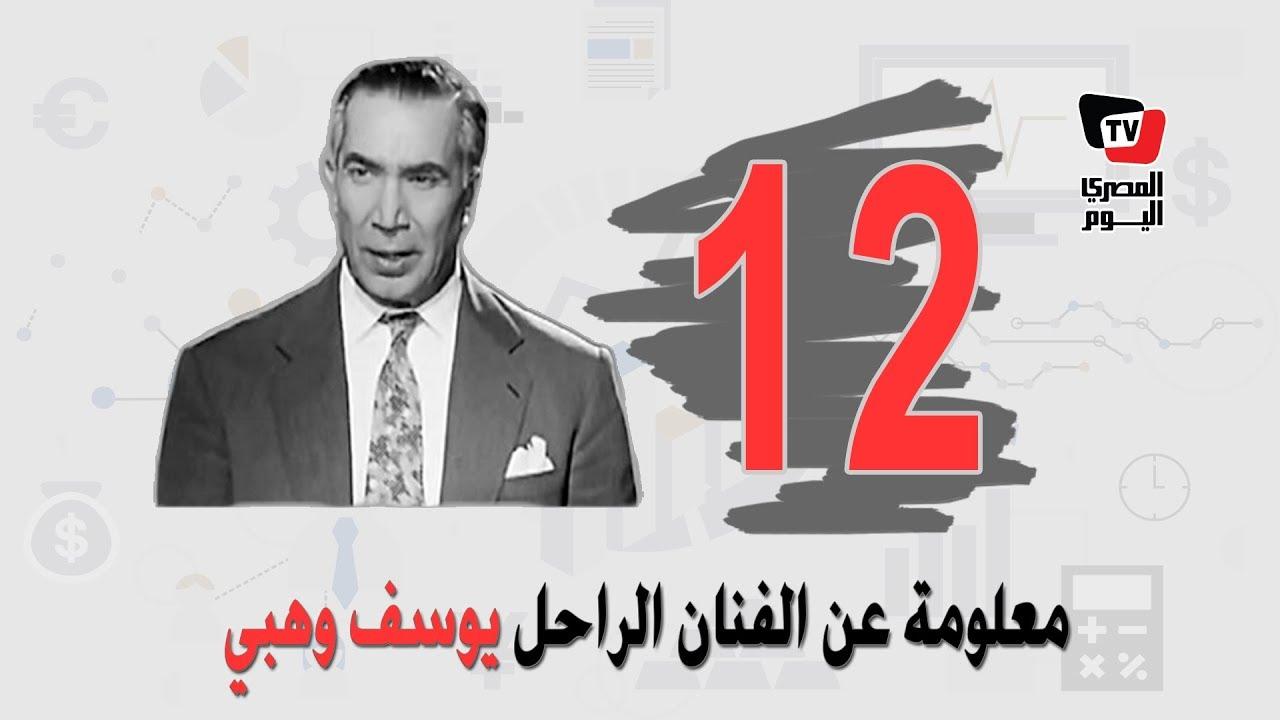المصري اليوم:«زي النهارده».. وفاة عميد المسرح العربي يوسف وهبي 17 أكتوبر 1982