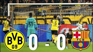 Borussia Dortmund vs Barcelona [0-0], Champions League Group Stage 2019 - MATCH REVIEW