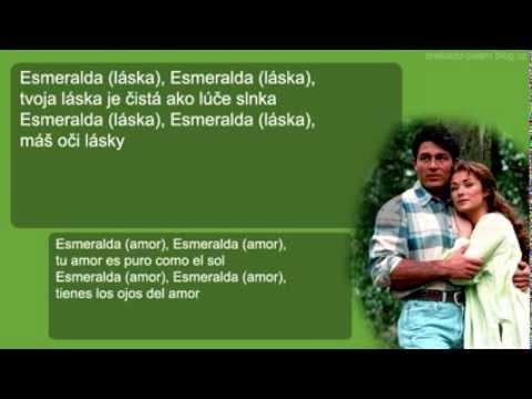 Javier Rodríguez - Esmeralda (preklad + text)