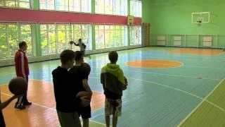 Баскетбол - ведение мяча