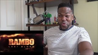 Rambo: Last Blood (2019 Movie) New Trailer— Sylvester Stallone - Reaction