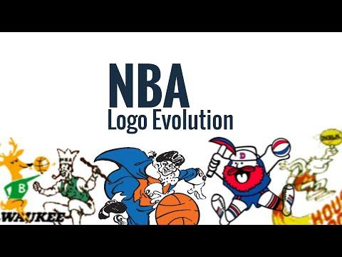 NBA Logos Through The Years