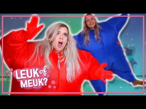 Opblaasbare Jumpsuit?! (met JILL) | LEUK OF MEUK?!