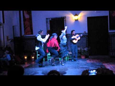 At Casa del flamenco!!! Sevillia!!!