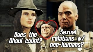 Fallout 4 - Sexual relations with non-humans?