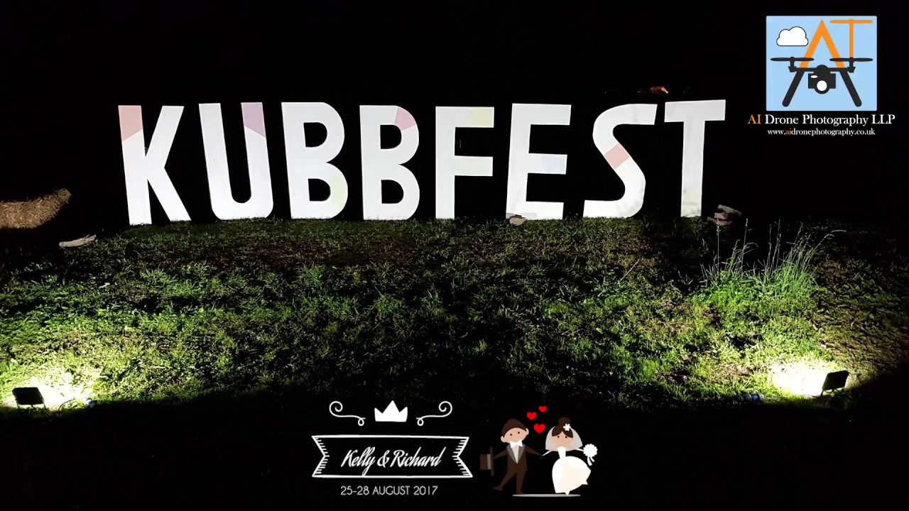 KubbFest Wedding - Kelly & Richard Tubb - August 2017 - Drone Video