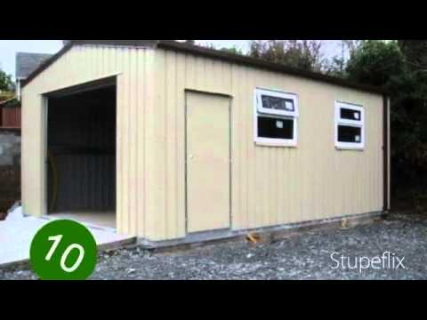 Steel domestic, industrial & agricultural sheds / garages / buildings