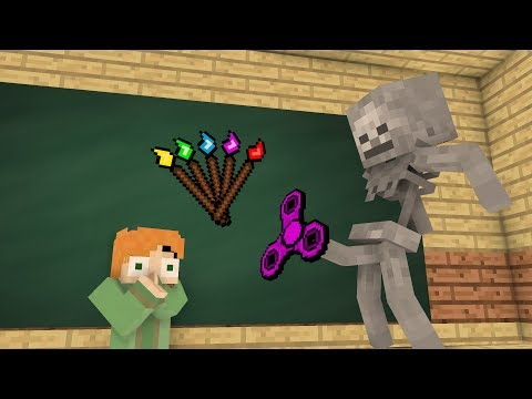 Download Youtube: Monster School Mobs : Fidget spinner Challenge & Drawing - Minecraft Animation