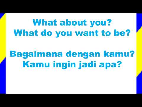 Learn Simple English and Indonesian Questions and Asnwers / Belajar Tanya Jawab Sederhana