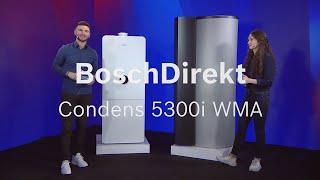 BoschDirekt #EinfachVorgestellt Condens 5300i WMA