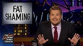 James Corden Responds to Bill Maher's Fat Shaming Take