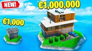 CASA DA 1000€ VS CASA DA 1.000.000€ - FORTNITE