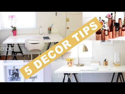 5 Decorating Tips for Transforming ANY Space with Mr. Kate! | Home Decor | Eman