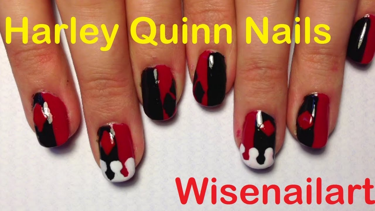 Harley Quinn And Joker Nails | Best Nail Designs 2018