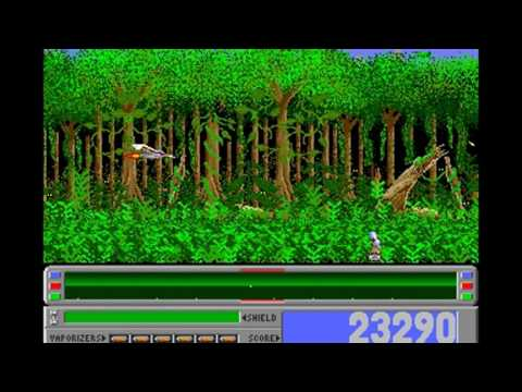 STAR RAY (trained) Logotron all levels Amiga 500/1000 gameplay