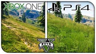 """GTA 5 """"PS4 vs Xbox One"""" Graphics Comparison! (1080p) [GTA V]"""