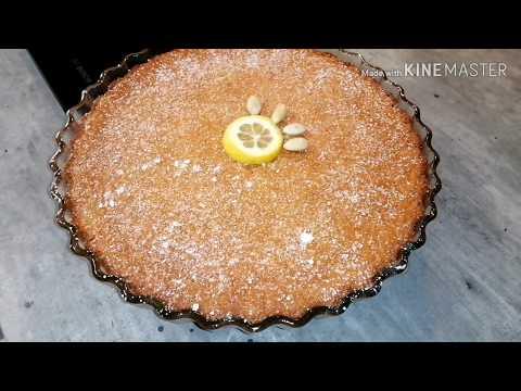 gâteau-au-citron-et-aux-amandes🍋🥧