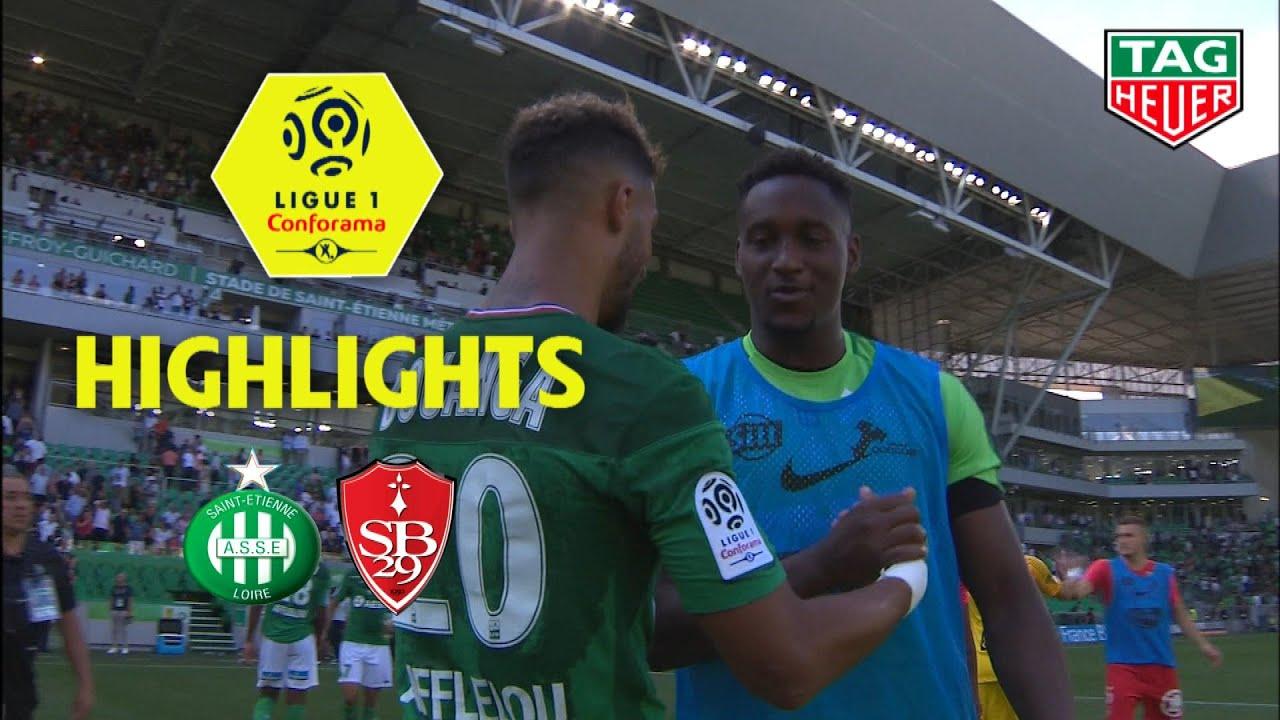 AS Saint Etienne Stade Brestois Highlights ASSE BREST YouTube
