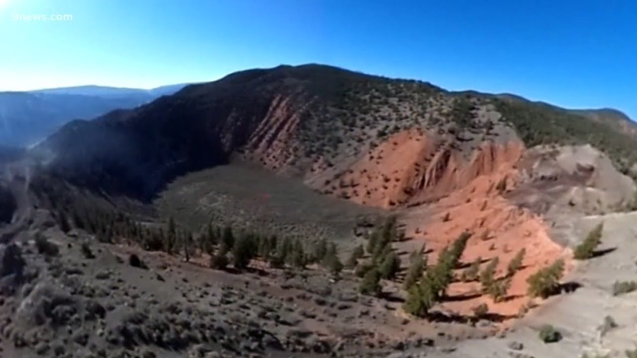 The Mystery Behind Colorado S Only Active Volcano Youtube