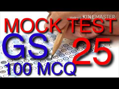 MOCK TEST 25 MPPSC 100 MCQ WITH EXPLATIONS(Right Academy)