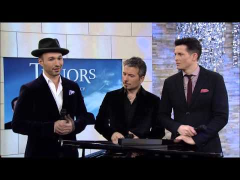 The Tenors interview w/ Jeanne Beker