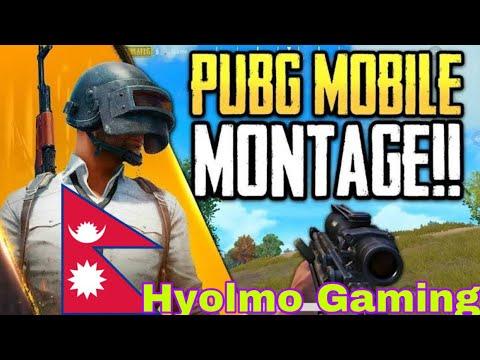 PUBG KILL MONTAGE - Ft. @Hyolmo Gaming