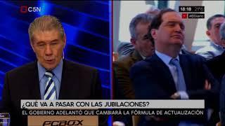 Editorial Victor Hugo sobre la reforma de Macri