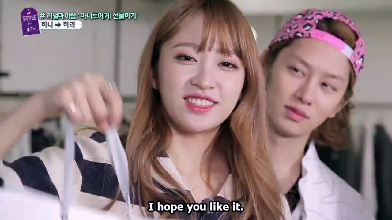 Eng sub exid hani funny cuts from a style for you ep 8 for Living together in empty room ep 10 eng sub