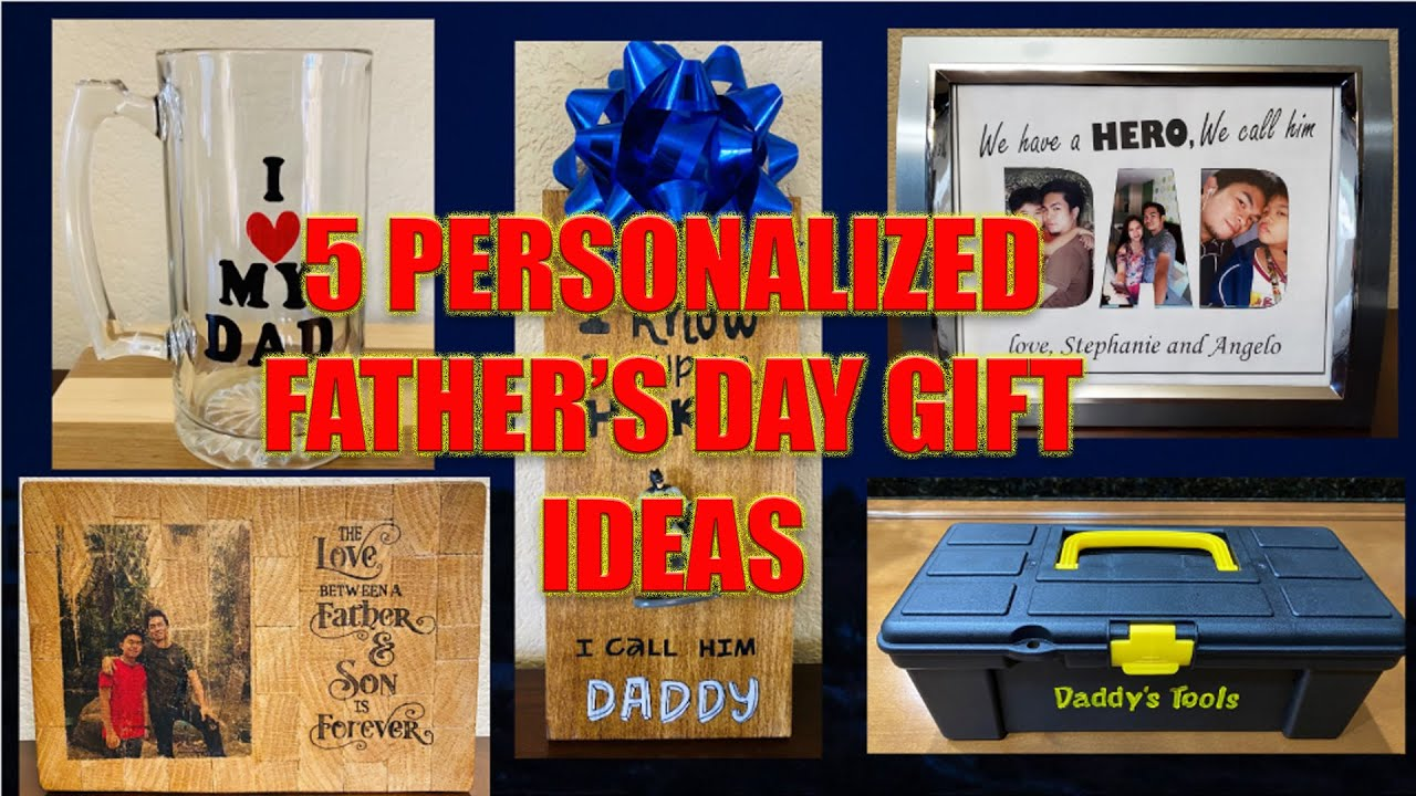 5 Personalized Father's Day Gift Ideas
