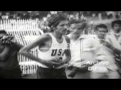 Frank Shorter gana la maraton en los Panamericanos de Cali 1971