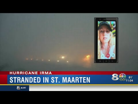 Woman stranded in St. Maarten
