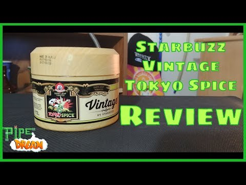 Starbuzz Vintage: Tokyo Spice: Hookah Tobacco Review
