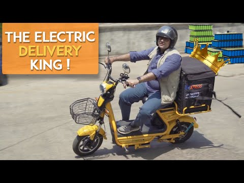DEXPRESS : Electric Scooter Deliveries |  They Make Their Own Batteries!